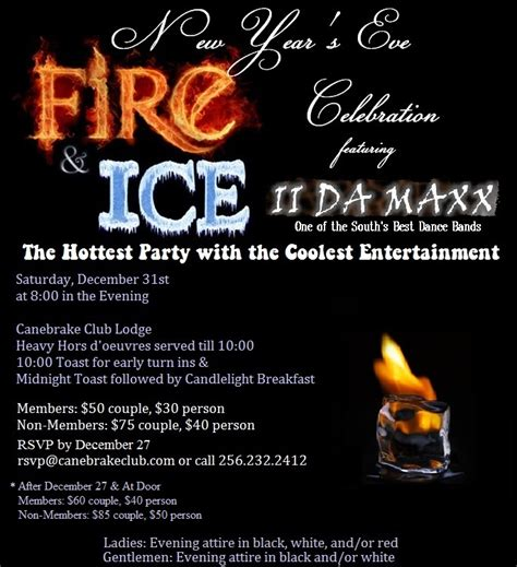 Fire And Ice Party Invitations Oxsvitation Com Cfire Invitation Template Free