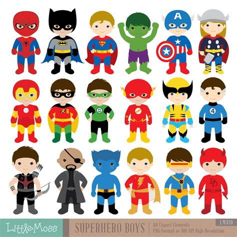 Promo Sleepsuit Superbaby Motif Batman Superman 18 boys costumes clipart superheroes by