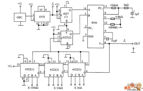 frequency synthesizer circuit diagram pll frequency synthesizer circuit diagram circuit and