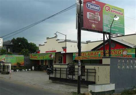 alamat telepon rumah makan ciptarasa purwokerto
