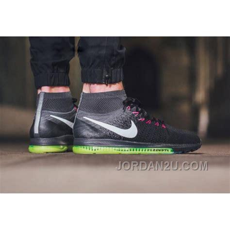 Nike Flyknit 2016 C 20 2016 nike zoom all out flyknit 844134 002 black grey
