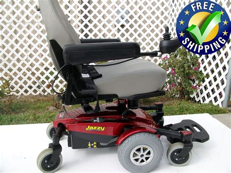 jazzy power chair used jazzy select 6 ultra wheelchair used power chairs