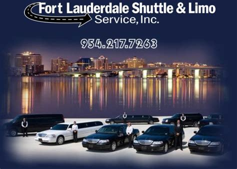 fort lauderdale shuttle and limo service