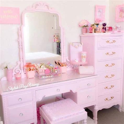 pink vanity makeup table best 20 pink vanity ideas on vintage vanity