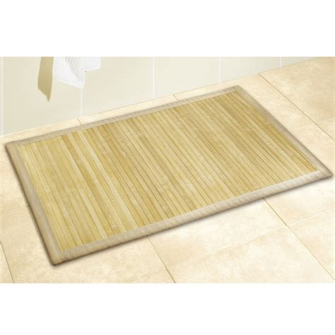 Bamboo Bathroom Rug Bamboo Shower Mat The Point Pluses Bamboo Bathroom Rug