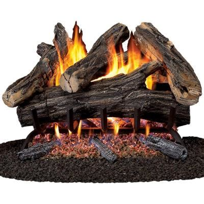 gas fireplace logs