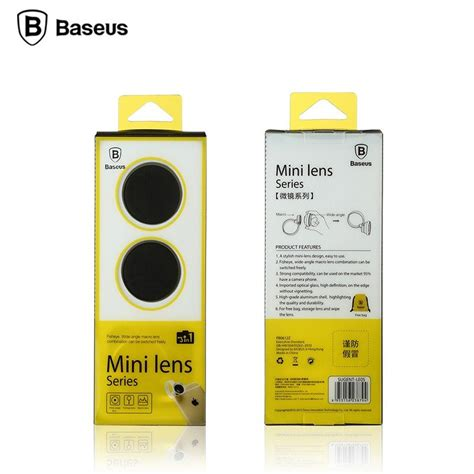 Baseus 3 In 1 Fisheyemacrowide Angle Universal Photo Clip 1 baseus mini lens series 3 in 1 iphone macbook and