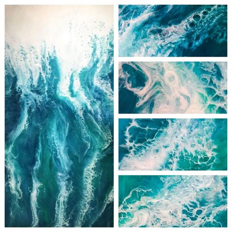 acrylic painting and resin 571 best fluid painting images on resin