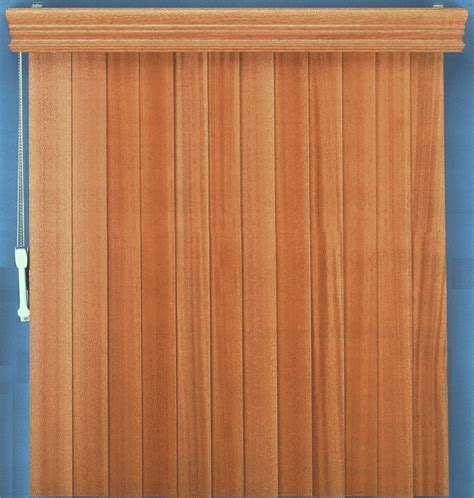 Wooden Shades Vertiwood Vertical Wood Blinds Wooden Verticals By