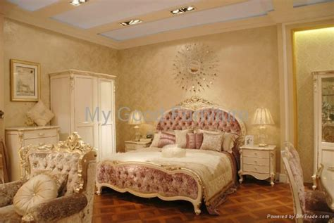 Bedroom Colour Solid Furniture New Style Bedroom Suite Double Bed