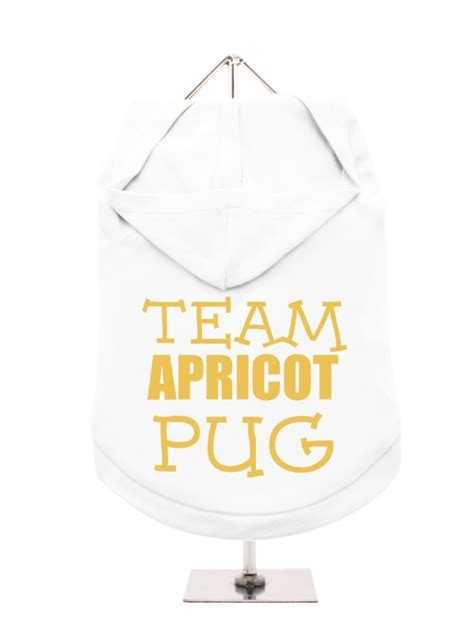 team pug team apricot pug unisex hoodie available in 3 colours i pugs