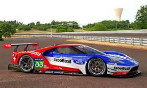 Le Mans Cars Sport Cars 2016 Ford Gt Le Mans Race Car
