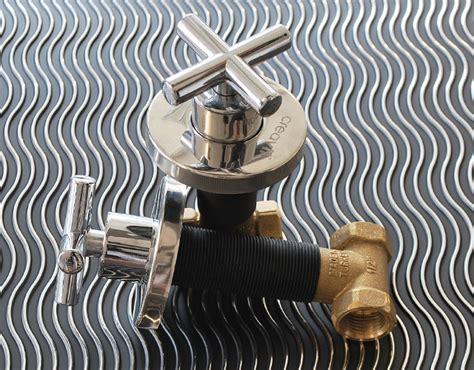 bidet unterputz design unterputz ventil ac70s creavit absperrventil neu