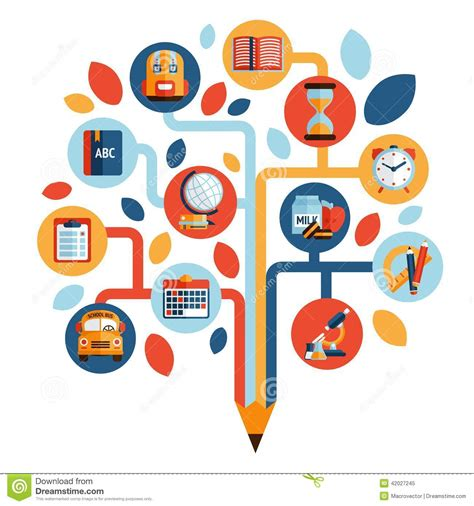 design education icon 15 knowledge icon vector images psychology brain tree