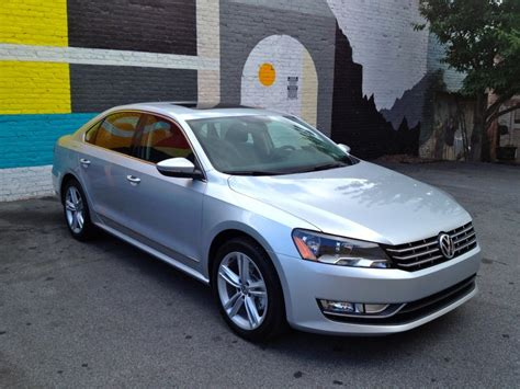 volkswagen tdi 2012 vw passat six month road test wash wax and 40 5 mpg