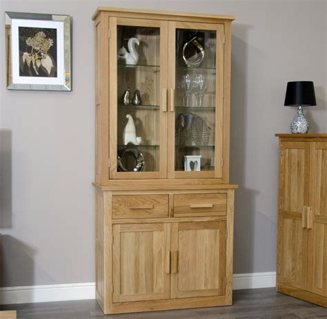 Display Cabinets Dining Room Furniture Arden Solid Oak Dining Room Furniture Small Dresser Glazed Display Cabinet Ebay