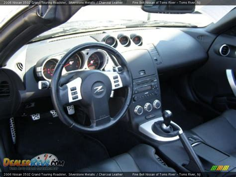 charcoal leather interior 2006 nissan 350z grand touring