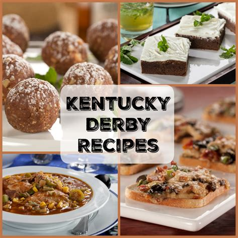 kentucky derby recipes top 10 recipe ideas mrfood com