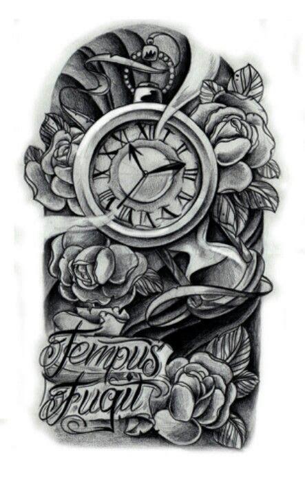 time waits for no one tattoo time waits on no one ideas tattoos