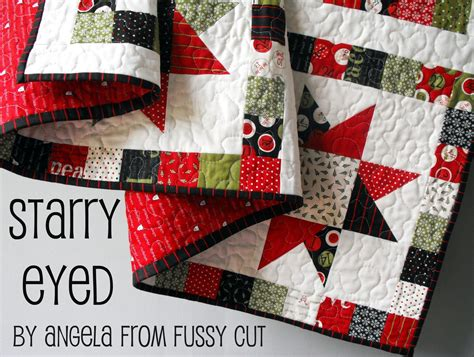 Starry Quilt Pattern by Starry Eyed Quilt 171 Moda Bake Shop