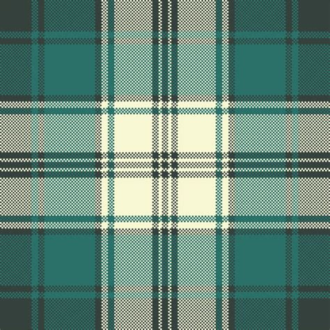 seamless pattern ai file check plaid fabric pixel seamless pattern vector vector