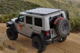 aev roof rack jeep cargo rack by aev rubitrux