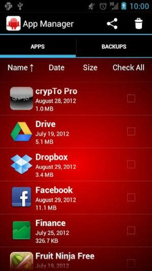app manager android free android apps app manager easily take care of your apps techtiplib