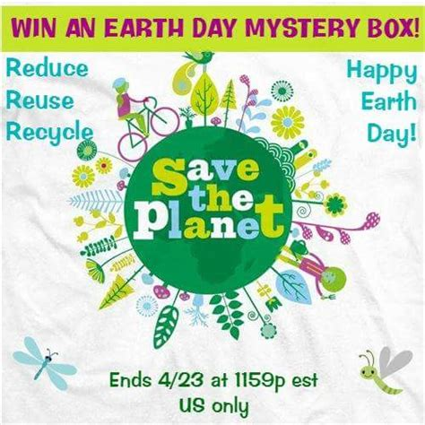 Earth Day Giveaways - win this earth day mystery box flash giveaway