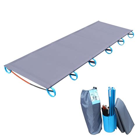 comfortable cot cing mat ultralight sturdy comfortable portable single
