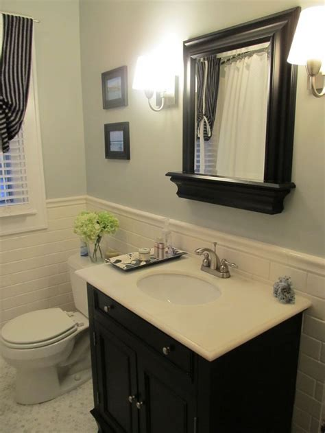 bathroom chair rail ideas 144 best baths images on bathroom bathrooms
