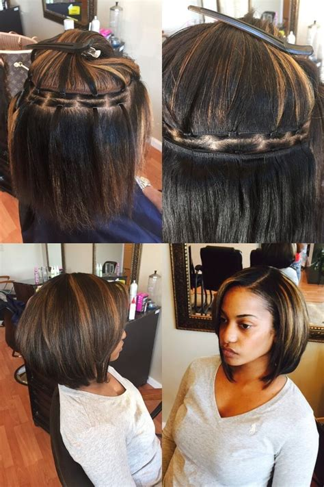 hair do with sew in weave with a part in the middle 25 best ideas about sew ins on pinterest sew in weave
