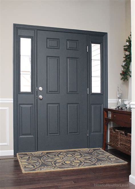 Front Door Interiors Painted Interior Front Door Giveaway How To Nest For Less