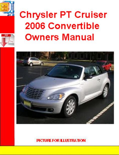 chrysler pt cruiser 2006 convertible owners manual download manua