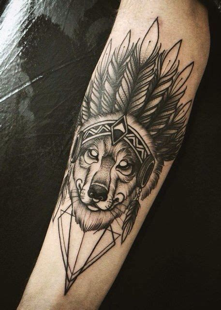 native tattoo pinterest wolf native american tattoo tattoo pinterest native