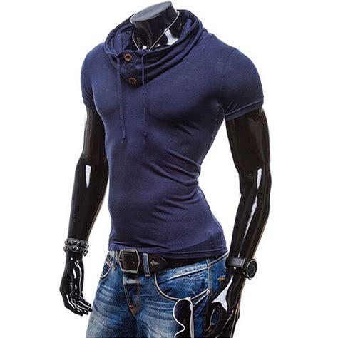 Stylish T Shirt For The Apathetic new fashion s summer stylish slim fit sleeve