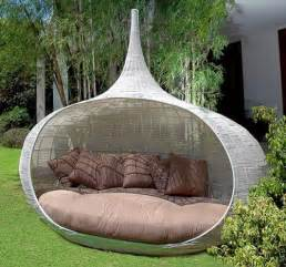 Outdoor daybed outdoor furniture product relaxing bed touch of modern