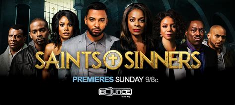 Or Tv Series Saints Sinners Preview The Bounce Tv Series March 6 Debut Canceled Tv Shows Tv Series Finale