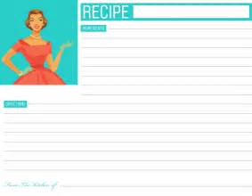 printable recipe card template ebook database