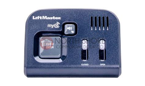 myq garage door monitor chamberlain 829lm liftmaster myq garage door monitor