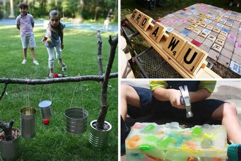 homemade backyard games leading 34 exciting diy backyard games and activities