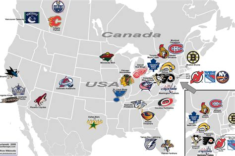 nhl map december 2009 dp s nhl page 2
