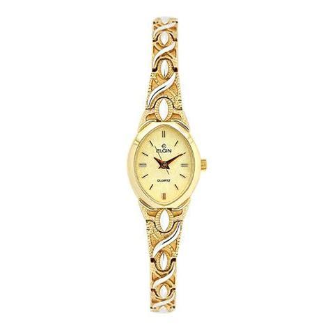 elgin eg065 gold tone stainless steel jewelry bracelet