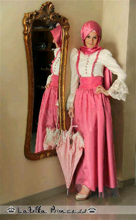 Kp 15 3 Pink Brokat Dress baju gamis pesta brokat latiffa princess bgp15 model