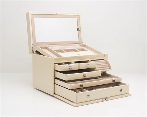 design brief for jewellery box london collection large cream jewelry case 315053 wolf