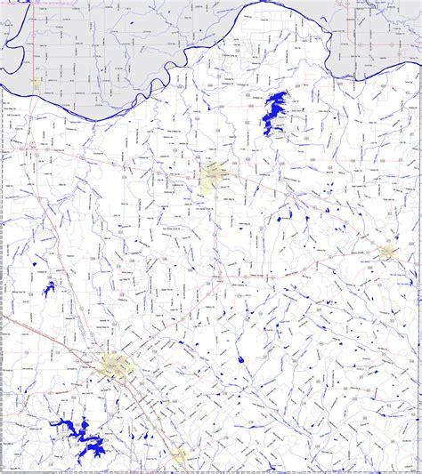 map of montague county texas bridgehunter montague county texas