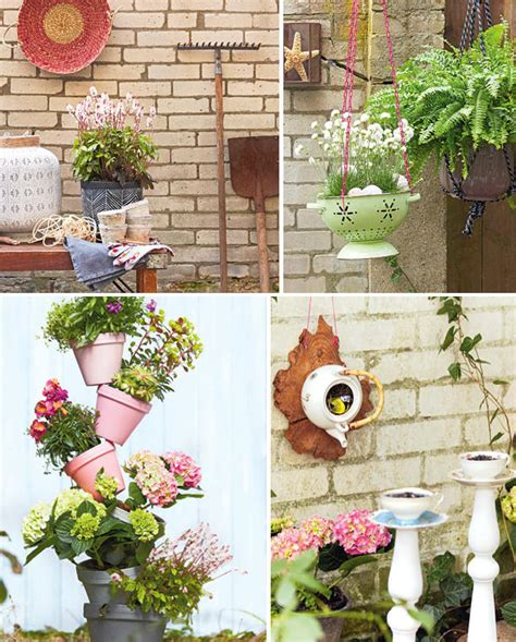 Handmade Garden Decor Ideas - garden decorations ideas for the outdoor season dress