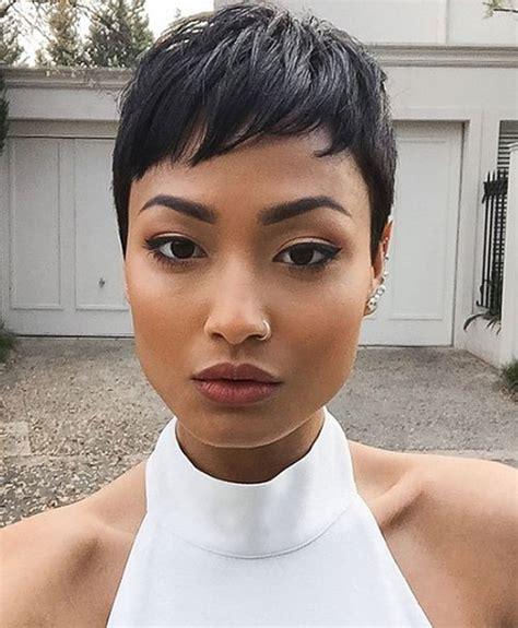 20 Trendy African American Pixie Cuts 2017   Pixie Cuts