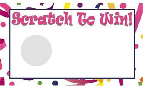 scratch card template ready to print scratch template print your own