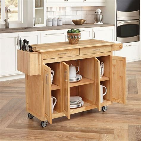 kitchen island breakfast bar robert dyas kitchen trolley ikea home styles natural kitchen cart with breakfast bar 5023
