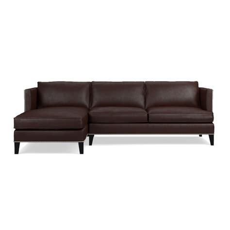 poundex 2 pieces faux leather sectional right chaise sofa hyde 2 piece leather chaise sectional left williams sonoma